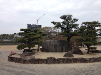 姫路城(工事中)
